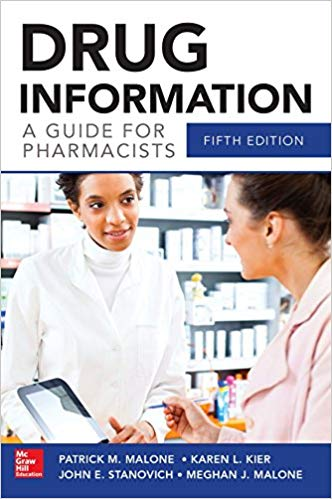 Drug Information_ A guide for pharmacists - RxCalculations